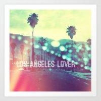 LA Lover Art Print