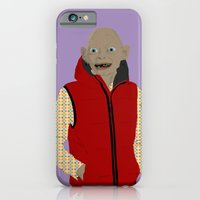 iPhone & iPod Case featuring GOLLUM MODERN OUTFIT VERSION - The lord of the rings by Lucho Margolin