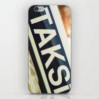 Taksi iPhone & iPod Skin