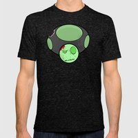 Zombie Toad Mens Fitted Tee Tri-Black SMALL