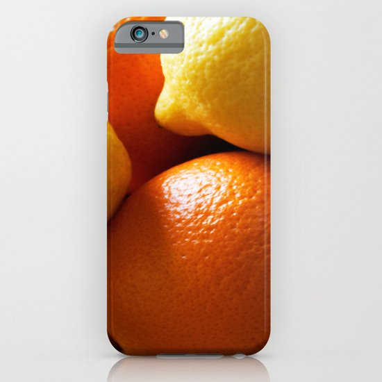 Oranges & Lemons iPhone & iPod Case