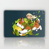 Corgi and Fairy Laptop & iPad Skin