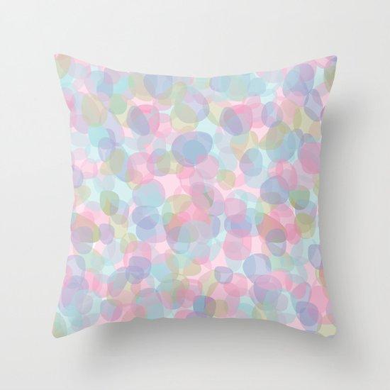 Pebbles Lavender Throw Pillow