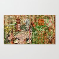 The Interlocking Mechani… Canvas Print