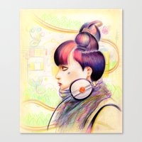 Sweet Dj Canvas Print
