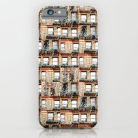 windows of NYC iPhone 6 Slim Case
