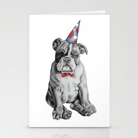 Party Dog Stationery Cards