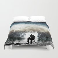 City Thoughts Duvet Cover