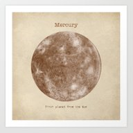 Art Print featuring Mercury by Terry Fan
