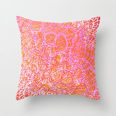 Doodle Style G370 Throw Pillow