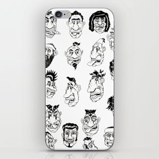 Shafted! Character sheet iPhone & iPod Skin