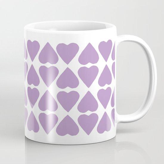 Diamond Hearts Repeat O Mug