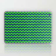 Laptop & iPad Skin featuring Chevron Glitter Pattern … by Aloke Design