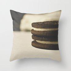 oreos Throw Pillow