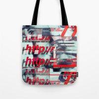 Glitch Decon 1 Tote Bag