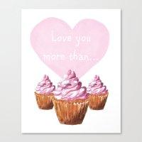 Valentine, Valentines Ar… Canvas Print