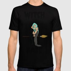 Witch SMALL Mens Fitted Tee Black