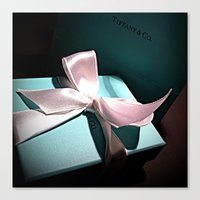 Canvas Print featuring PMS 1837 [Tiffany Blue] by RVSN© Images