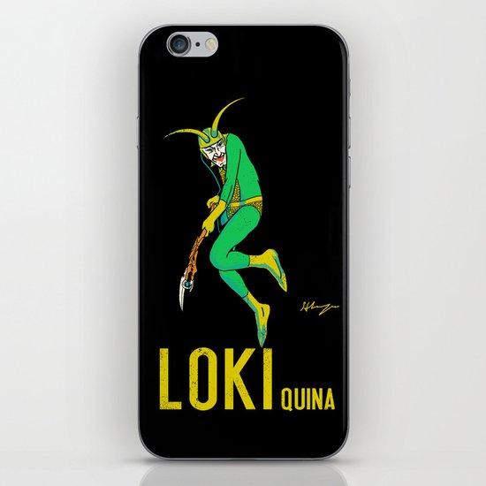 Loki Quina iPhone & iPod Skin