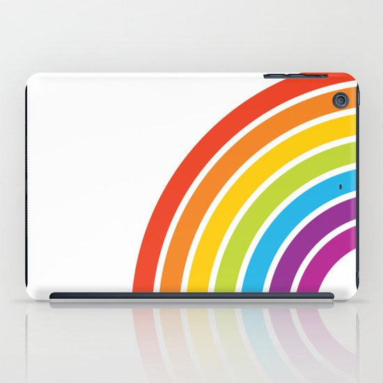 A Rainbow World iPad Case