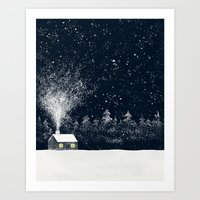 The Snow Makers Art Print