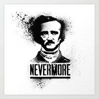 Nevermore! Art Print