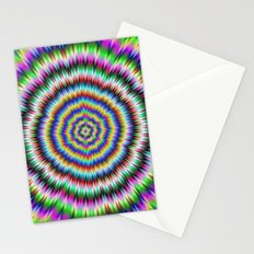 eye boggling psychedelic Stationery Cards
