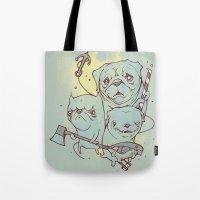 Sea Dogs Tote Bag