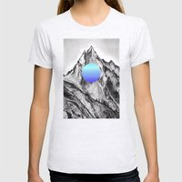 Mountain  Womens Fitted Tee Ash Grey SMALL