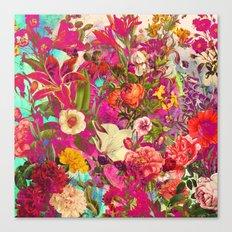 Atomic Garden Canvas Print