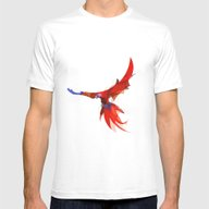 Parrot 2 Mens Fitted Tee White SMALL