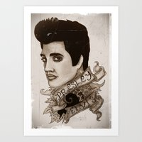 The King Of Rock 'n' Rol… Art Print