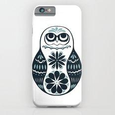 Flower Owl Matryoshka - Steel iPhone 6 Slim Case