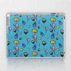 cutout flowers Laptop & iPad Skin