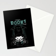 Forbidden books can be fun! Stationery Cards