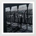 station number 1 Art Print
