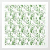 Jamaican Botanicals - Gr… Art Print