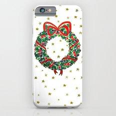 Christmas Wreath II Slim Case iPhone 6s