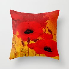 FLOWERS - Mellow Yellow Throw Pillow