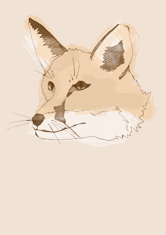 Mr Fox IV Art Print