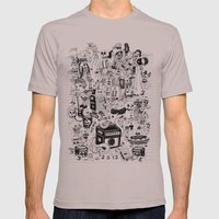 HONG KONG CLUB Mens Fitted Tee Cinder SMALL