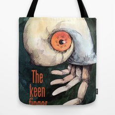 The keen finger Tote Bag