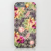 iPhone Cases featuring TROPICAL FUSION by Nika