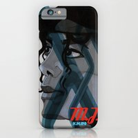iPhone & iPod Case featuring Looking Out Across The Nighttime by KNIfe