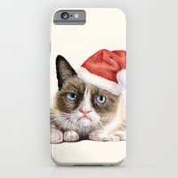 Grumpy Santa Cat iPhone 6 Slim Case