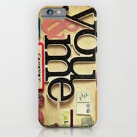 Collage Love - You & Me iPhone 6 Slim Case