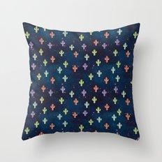 Catctus Space Throw Pillow