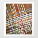 INTERSECT Art Print