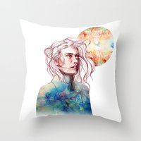 The Chase Is Over Throw Pillow