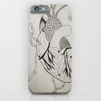 iPhone & iPod Case featuring Worm Holes by Rachelle Ray